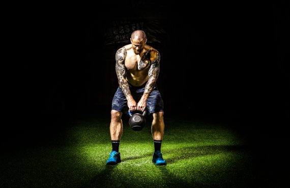 Stay fit during summer using a single kettlebell.